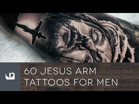60 Jesus Arm Tattoos For Men
