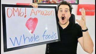OMG AMAZON BUYS WHOLE FOODS! | Short Grocery Stocks?!