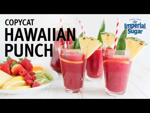 How to Make Copycat Hawaiian Punch