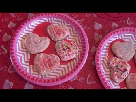 Dollar Tree Pillsbury Valentine's Sugar Cookies -2017
