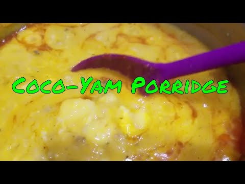 How to Make Cocoyam Porridge | Malanga | Mpotompoto