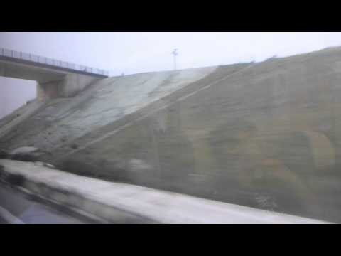 High Speed Renfre Train from Madrid to Malaga   Spain   April 2015