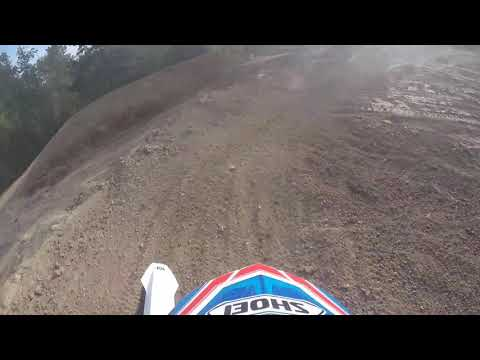 Ripping a few 50' jumps at a Cornell private track