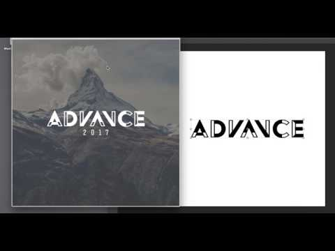 Adobe Photoshop tutorial - Church Theme Logo