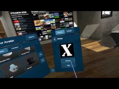 Steam VR Room(BETA) Avatar and much more  for Windows MixedReality