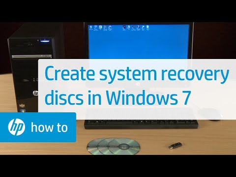Creating System Recovery Discs in Windows 7 for HP and Compaq Desktop PCs | HP Computers | HP