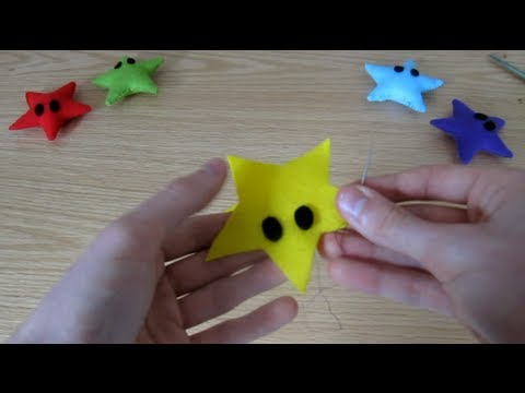 Make your own Star Plush