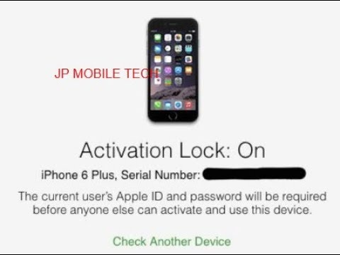 How to check for iCloud Activation Lock on all iPhones 6/5s/5c/5/4s/4/3gs/iPod and iPads.