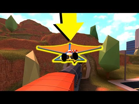CAN YOU GLIDE THE ENTIRE TRAIN IN JAILBREAK?