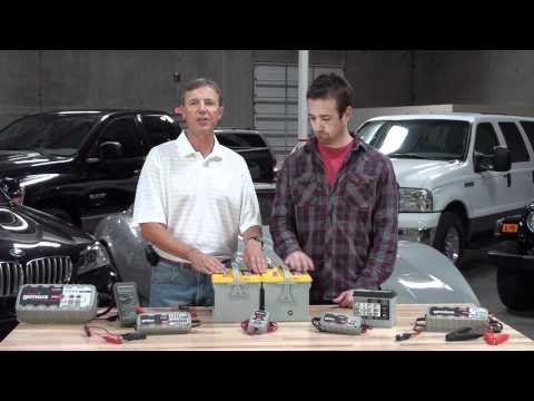 Charging Two 12V Batteries in Parallel
