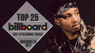 Top 25 • Billboard Rap Songs • November 25, 2017 | Streaming-Charts