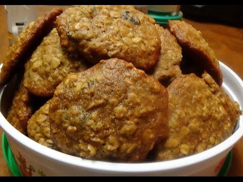 Christmas Cookies - Brown Sugar, Oatmeal Raisin Cookies GREAT Recipe for Holidays