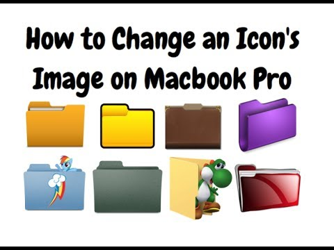 How to Change an Icon's Image on Macbook Pro