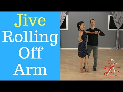 Jive Rolling off Arm - Silver Level Figure