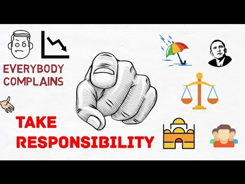 BLAME, COMPLAINT AND TAKING RESPONSIBILITY FOR YOUR LIFE | ANIMATED