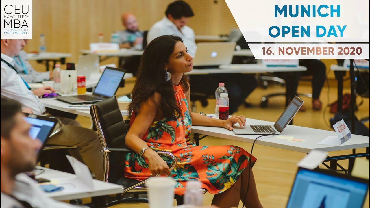 CEU Executive MBA:  Munich Open Day