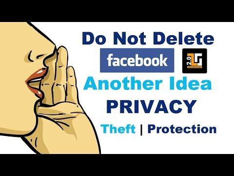 #DonotDeleteFacebook | Privacy Theft| How to Protect | Be Safe | TTG