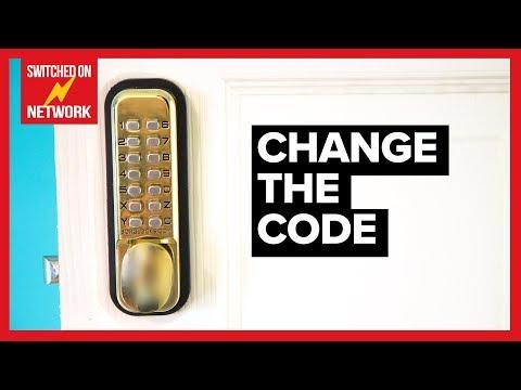 How to Change the Code on a Digital Combination Door Lock