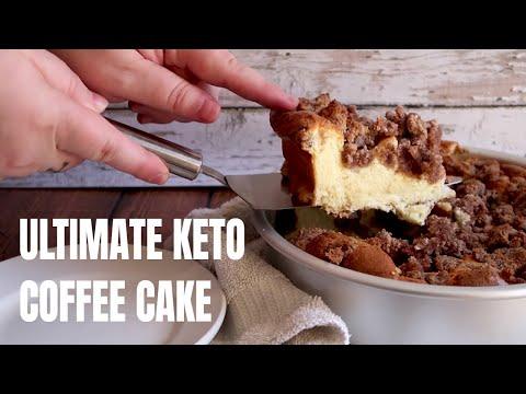 Keto Recipe - Ultimate Keto Coffee Cake