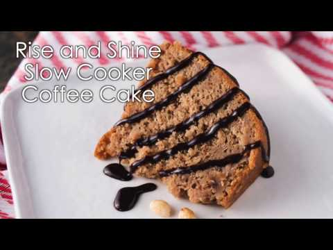Rise and Shine Slow Cooker Coffee Cake