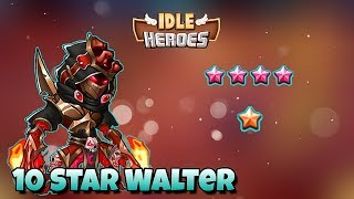 10 STAR KAMATH REVIEW AND GAMEPLAY!! (INSANE!) - Idle Heroes
