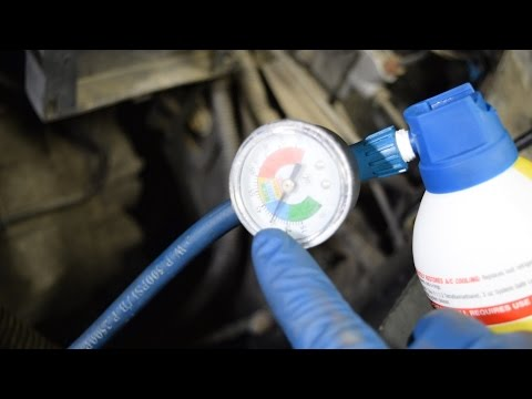How to Add A/C Refrigerant and Find Leaks at the Same Time - Short Version