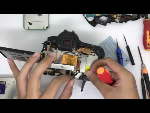 Canon EOS 60D SD Board Replacement