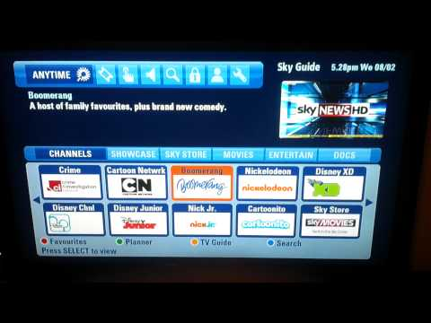 ITV Player on Sky Anytime+