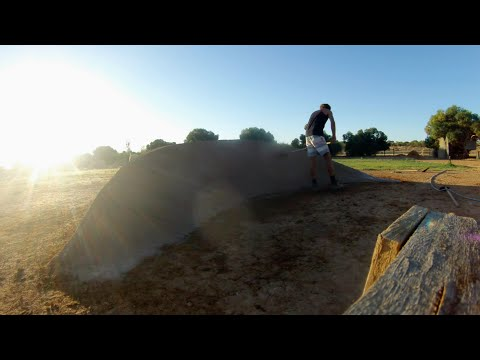 GoPro Time Lapse: Fixing a Berm