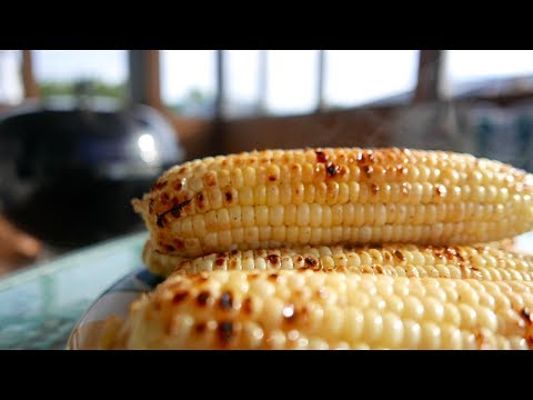 Grilled Corn On The Cob in Foil - Life Hack