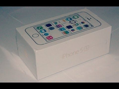 Apple iPhone 5s - 4G/LTE 16GB [Gold Edition] - UK Unboxing [HD]