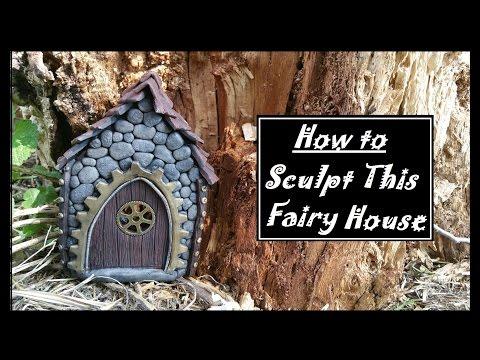 Polymerclay Fairy House Tutorial
