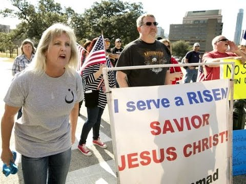 Christian Spreads Hatred For Jesus At Texas Muslim Rally