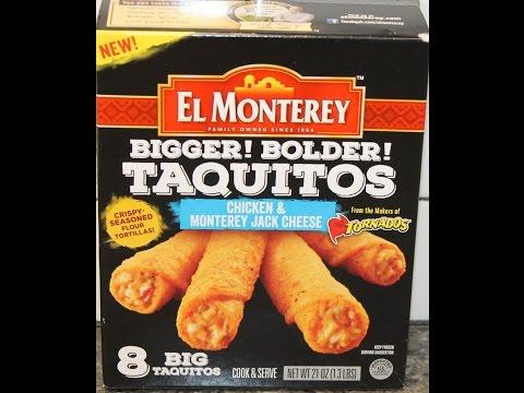 El Monterey Chicken & Monterey Jack Cheese Taquitos Review