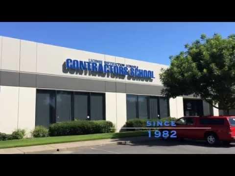 California Contractors License School