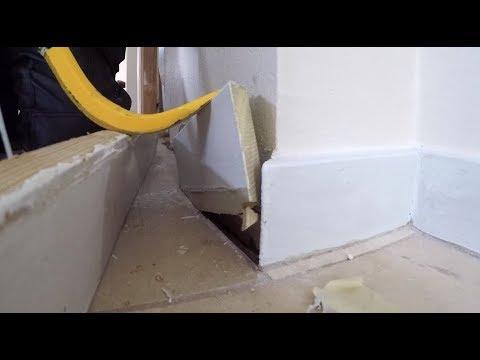 ALWAYS Remove your Baseboard Before Installing Floor