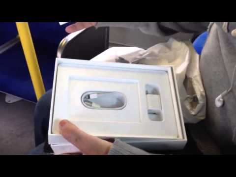 Apple iPad Mini Unboxing Nov 2, 2012