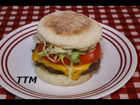 How to Cook the Best Frozen Burgers in the Toaster Oven~Easy Cooking