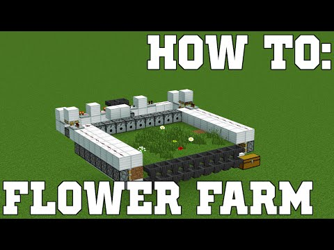 HOW TO: Flower Farm Tutorial | Flower Spawning & Dye Explained | Tips n' Tricks