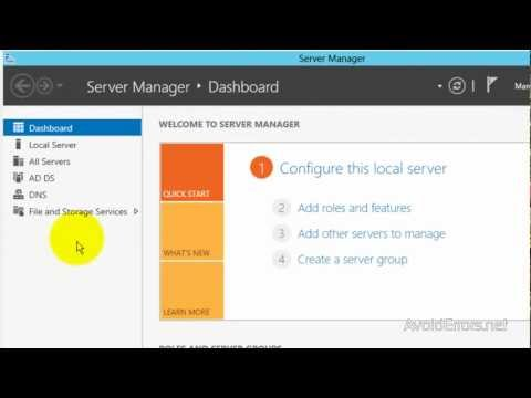 How to Remote Desktop Access Windows Server 2012