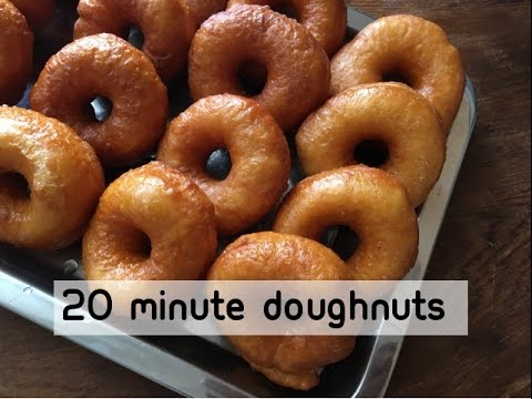 20 Minute Doughnuts - No Yeast - Episode 234 - Baking with Eda
