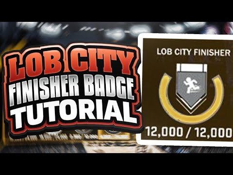 NBA 2K18 BADGE TUTORIAL • LOB CITY FINISHER BADGE • FASTEST METHOD🗣