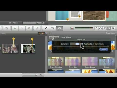 Ep. 108: iMovie 09 - Adding Titles, Transitions, and Maps Pt.1 of 2