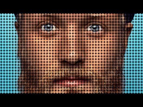 Dot Pixel Portrait Effect + PSD Photo Template | Photoshop Tutorial