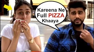 Kareena Kapoor ENJOYING Lunch With Arjun Kapoor In London- Video