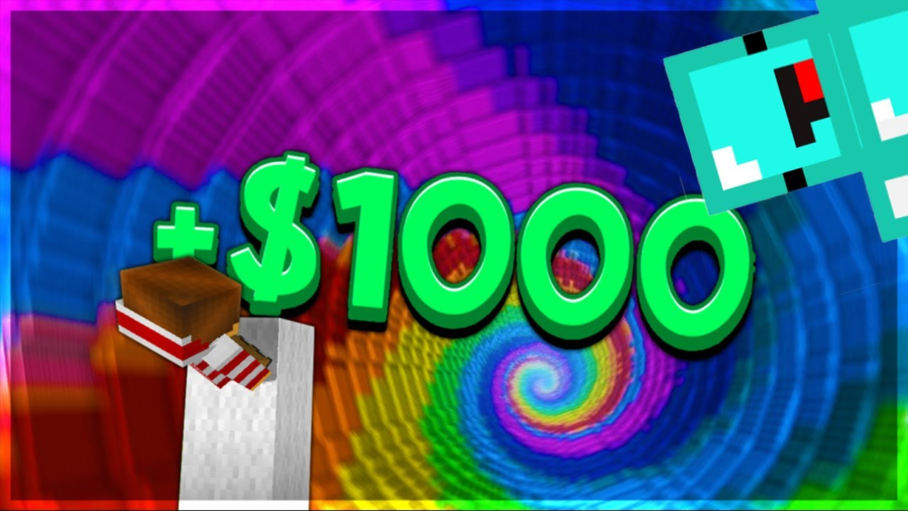 How I Won $1,000 in Skeppy's Dropper Event - Challenge