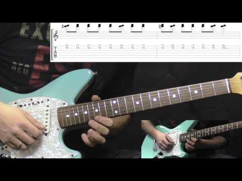 Sepultura - Territory - SOLO - Metal Guitar Lesson (with TABS)