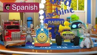 Learn to read (SPANISH) - ¡Aprende a leer con Max el Tren Brillante y su equipo! - TOYS