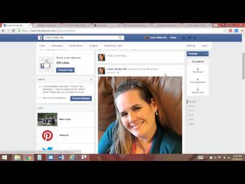 How to update your Facebook Profile Picture