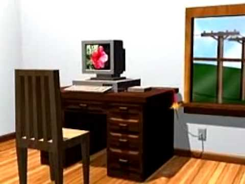 How Dial-Up Internet Works (Animation)